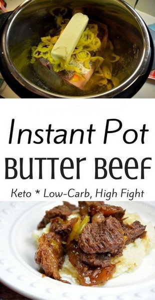 Easy Instant Pot Butter Beef Recipe