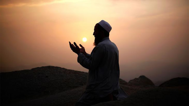Berdo'a kepada Tuhan untuk minta keberhasilan