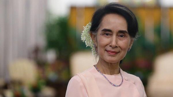 Pemimpin Myanmar Aung San Suu Kyi Ditahan!
