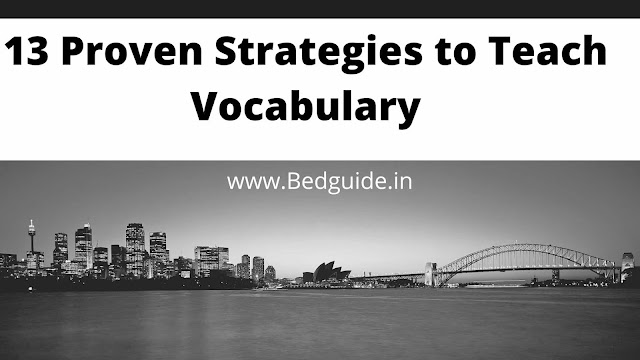 14 Proven Strategies to Teach Vocabulary