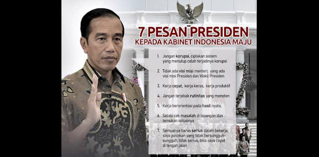 Menteri Tidak Pantas Disalahkan, Sejak Awal Tidak Ada Visi Misi Menteri, Yang Ada Visi Misi Presiden