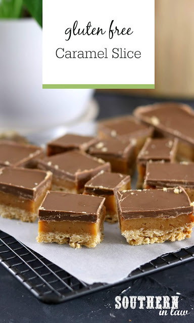 Easy Gluten Free Caramel Slice Recipe with Condensed Milk Egg Free Simple Dessert Recipes