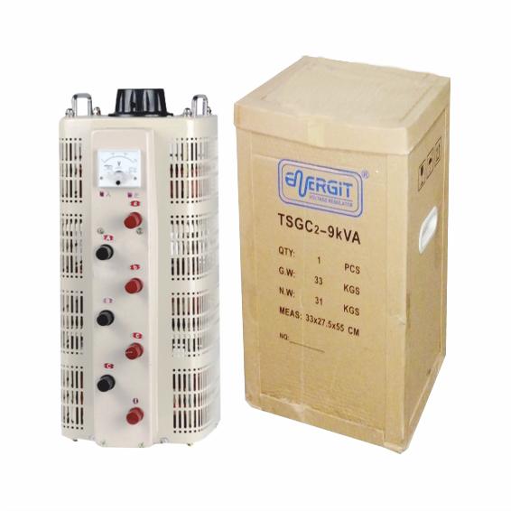 Variac de Voltaje Trifásico Tsgc2- 9 kva