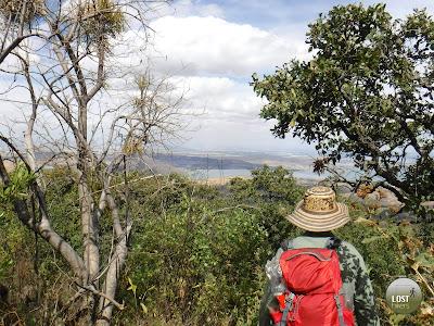 Laguna de Cajititlán vista desde Cerro Viejo