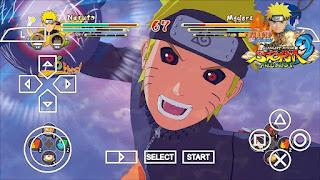 تحميل لعبة Naruto Shippuden Ultimate Ninja Heroes 3 بحجم 38 ميجا (PPSSPP)
