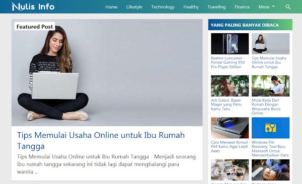 Update v9.10 Kompi Flexible Responsive Blogger template