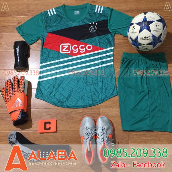 Áo CLB Ajax Training màu xanh đẹp