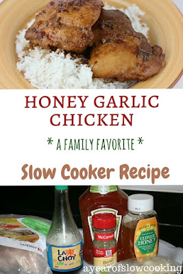Such a family favorite! This is moist, juicy, flavorful chicken! Use thighs -- they hold up better in the crockpot.