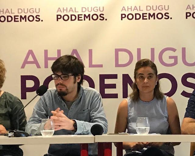 Lander Martínez de Podemos Euskadi