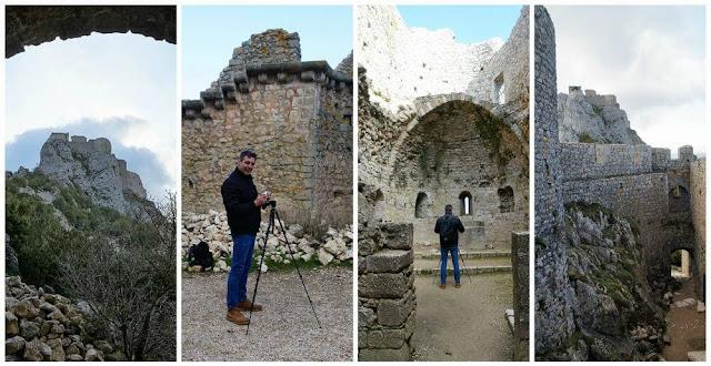estancias del castillo de Peyrepertuse