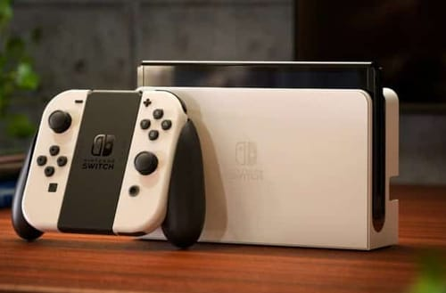 Nintendo releases a new Switch with an OLED screen