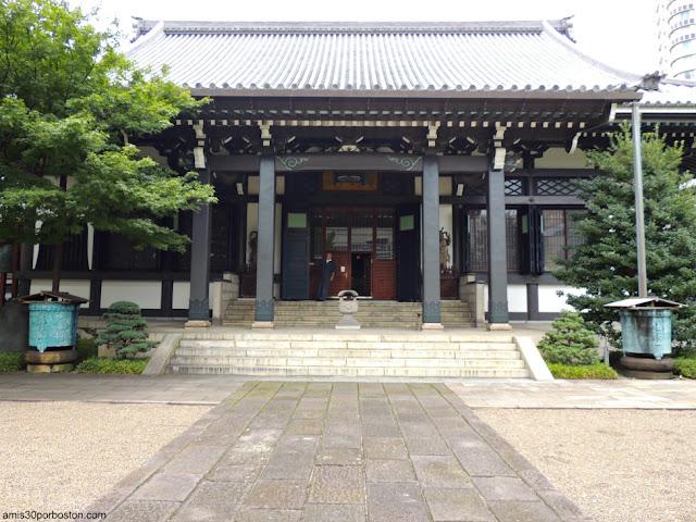 Salón Principal del Templo Seishoji en Tokio