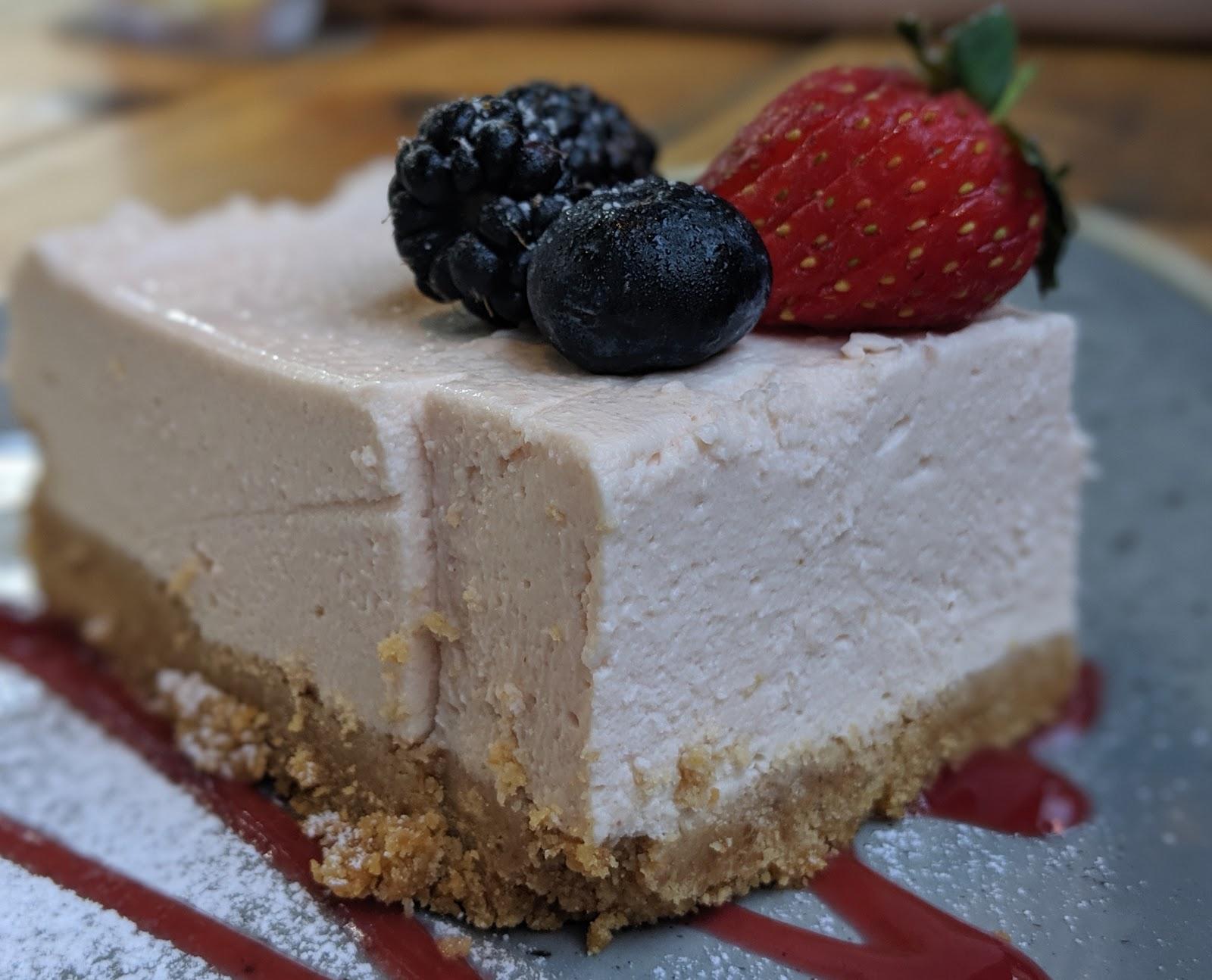 A Weekend Exploring Seaham Beach & Durham's Heritage Coast - Seaton Lane Inn - cheesecake