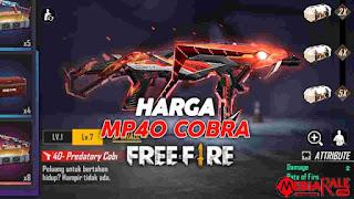 harga mp40 cobra, total diamond spin mp40 cobra