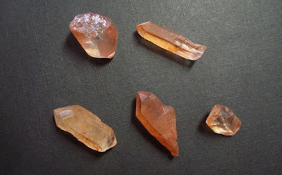 Tangerine quartz (copyrighted)