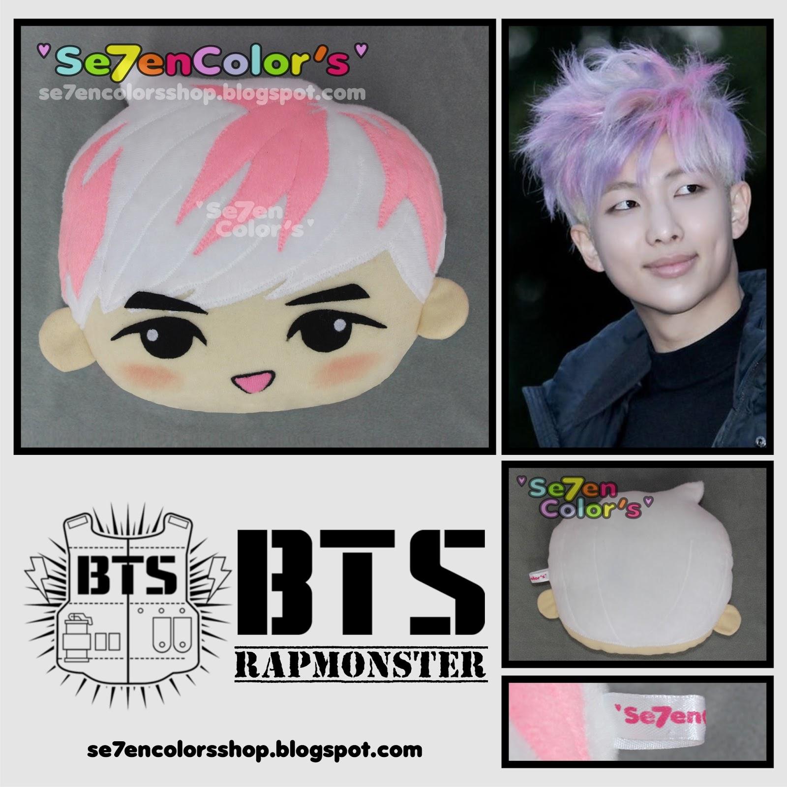 Se7en Colors Bts Quot Run Chibi Character Pillow