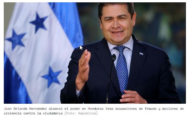 """""""Es nuestro hijo de puta"""": Juan Orlando Hernández es el paradigma de gobierno de EEUU para la región"""