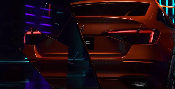 Novo Honda Civic 2022 será apresentado dia de novembro