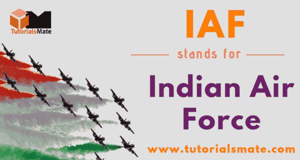 IAF Full Form
