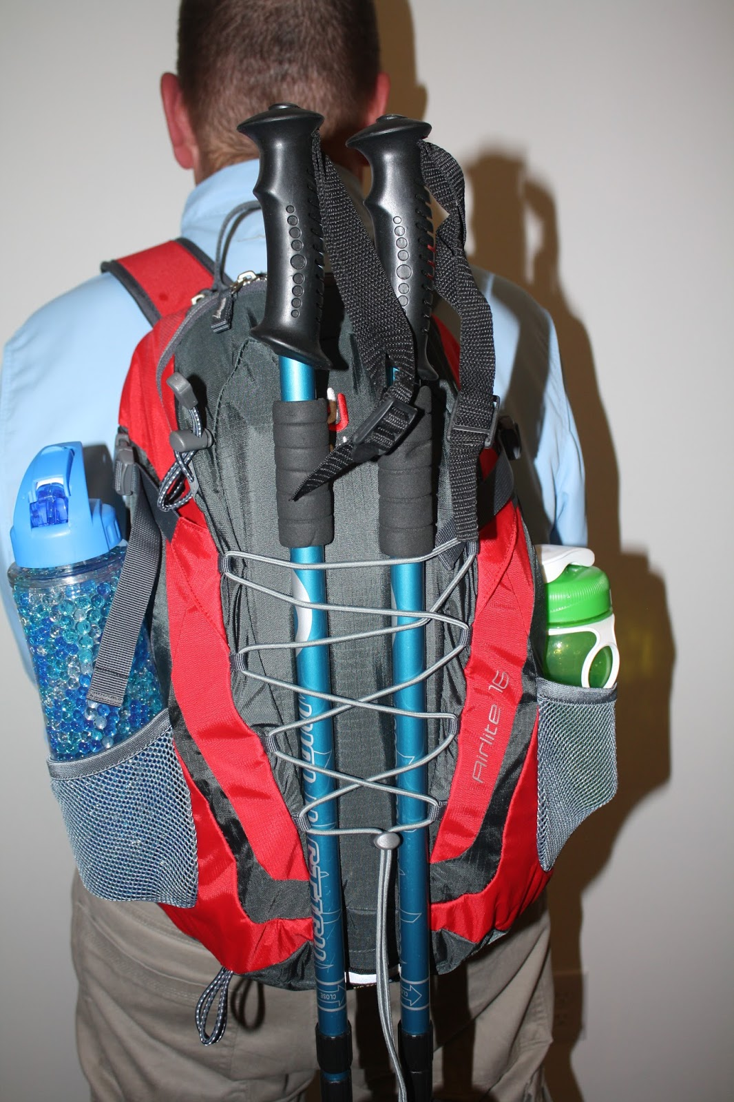 Lace Up And Walk Review Deuter Airlite 16 Hiking Backpack