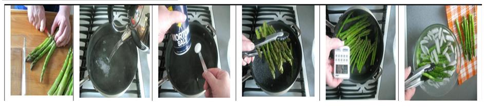 gambar teknik memasak blanching