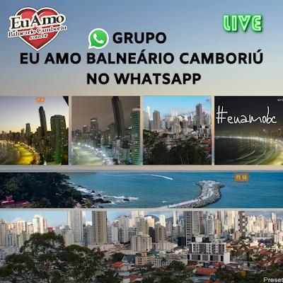 Eu Amo Balneário Camboriu no whatsapp