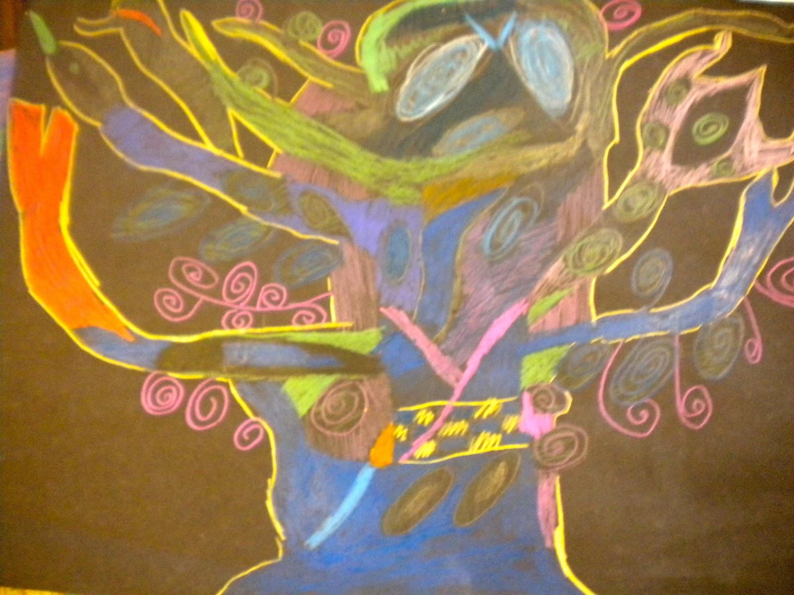 Waitsfield Elementary Art Gustav Klimt S Tree Of Life