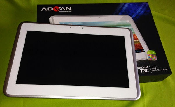 tablet advan tidak bisa nyala