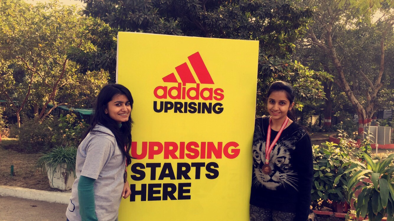 Everyone who completed   participated in this amazing adventure sports got  a medal of appreciation from the Adidas Uprising   also some refreshments  to ... 674ad26c6260