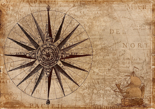 Books that Inspire Travel History: Map and Compass