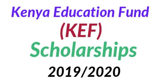 KEF scholarships 2020