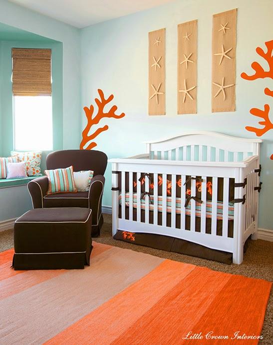 cuarto de bebé luminoso