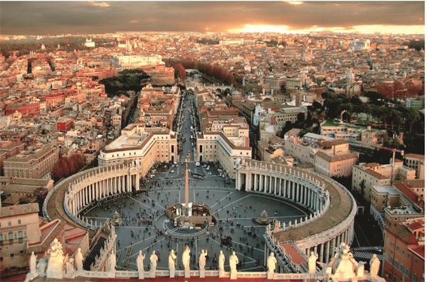 tempat wisata di Roma Italia