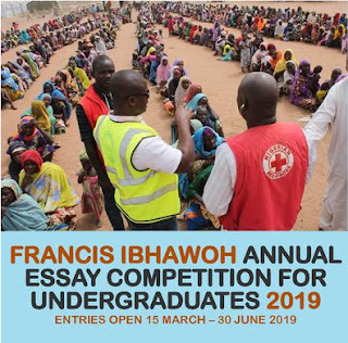 Francis Ibhawoh Annual Essay Competition for Undergraduates 2019/2020