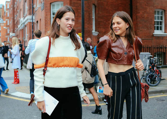 london fashion week street style 2017