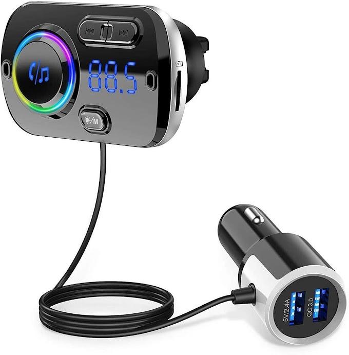 جهاز إرسال بلوتوث FM للسيارة