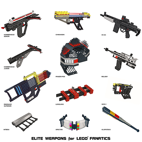 All About Bricks Book Review Elite Weapons For Lego Fanatics