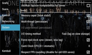 Cara Setting Game PPSSPP PES 2015/2016 di Android