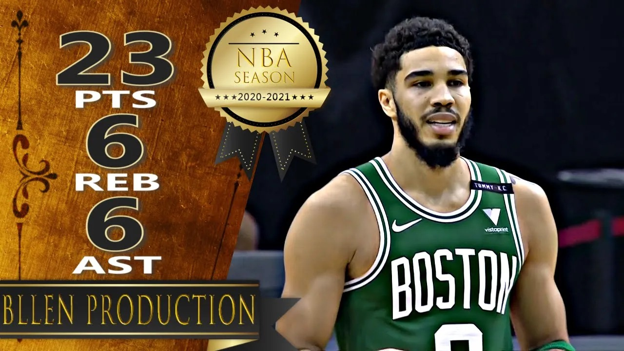 Jayson Tatum 23pts 6reb 6ast vs HOU | March 14, 2021 | 2020-21 NBA Season