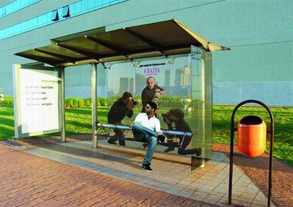 publicidad ingeniosa en la calle