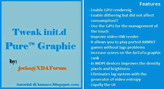 Tutorial Install Tweak Pure™ Graphic HD dari XDA