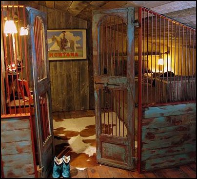 cowboy rustic decor. western home decorating ideas vintage home,