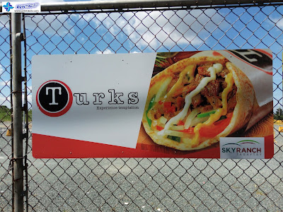 GI Sheet Signage - Turks Sky Ranch Tagaytay