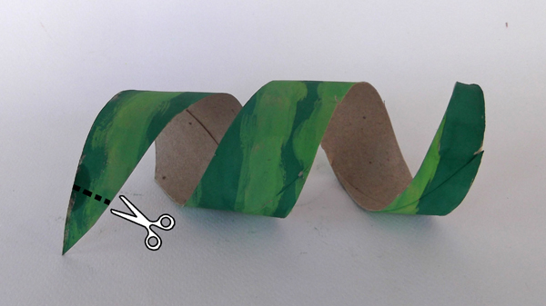 στριφογυριστή λωρίδα από χαρτί
