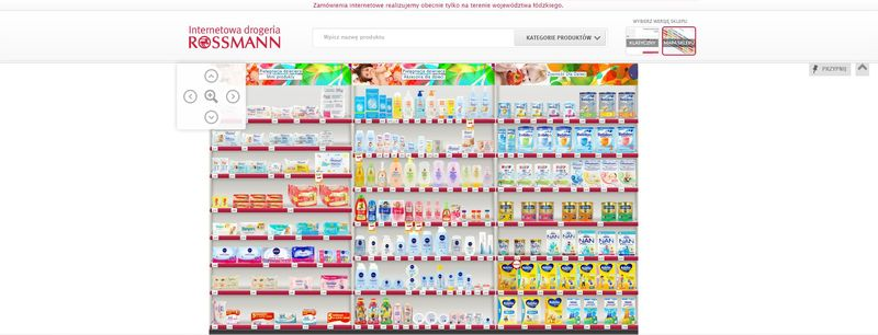 Rossmann internetowy, sklep online