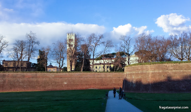 Muralhas de Lucca, Toscana, Itália