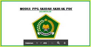 Modul PPG Akidah Akhlak Pdf