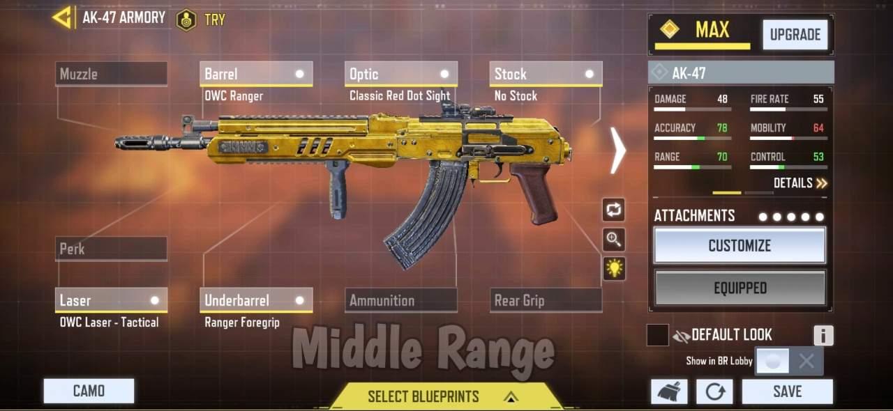 Ak-47 middle range Gunsmith
