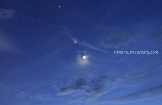 Planet Merkurius, Venus, Mars, Yupiter, dan Saturnus Akan Berbaris Menghiasi Langit