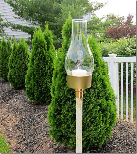 Windlicht zum Selbermachen - schönes Design für Garten, Terrasse und Balkon zum Basteln